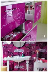 Bathroom Color Decorating Ideas - cute bathroom decorating ideas purple colors cute bathroom within