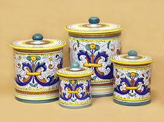 kitchen canisters blue talavera canisters blue and white pottery gift idea 100