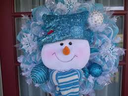 Blue Decorated Christmas Wreaths by 87 Best Front Door Decor Images On Pinterest Winter Wreaths