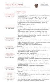 writer resume sample wtfhyd co