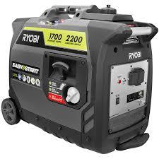 ryobi 2 200 watt gray gasoline powered digital inverter generator