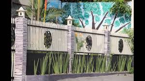 modern fence design for box type houses youtube