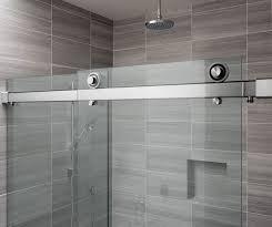 Shower Sliding Door Hardware 9 Best The Rorik Frameless Glass Sliding Door Shower System Images