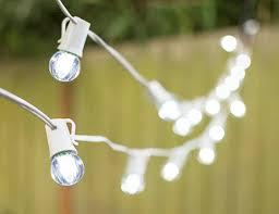 led globe string lights g30 bulb 50 ft white c9 strand cool white