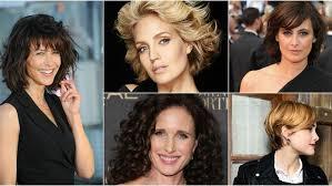 quelle coupe pour cheveux pais quelle coupe de cheveux adopter à 50 ans et plus femme actuelle