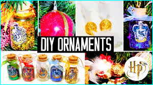diy christmas tree ornaments harry potter inspired holiday