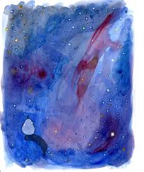 galaxy car paint carina nebula watercolor galaxy studies winter u002717 u2014 two of a pear