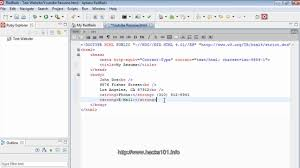Html Resume Examples Html Resume Part1 Youtube