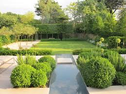 modern back garden ideas landscape contemporary with garden wall