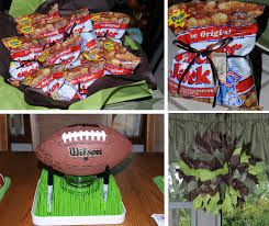 Farm Theme Baby Shower Decorations Interior Design View Football Themed Baby Shower Decorations