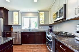 magma gold granite makes a bold statement in falls church kitchen