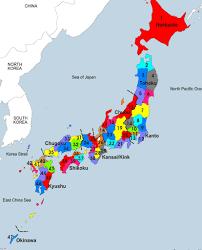 Map Japan Japan Map