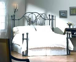 King Size Metal Bed Frames For Sale King Size Iron Bedstead Frame With Spindles In The Headboard And
