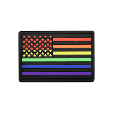 American Flag Morale Patch American Flag Pvc