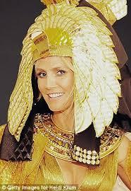 Queen Elizabeth Halloween Costume Halloween 2012 Gisele Bundchen Heidi Klum Don Cleopatra