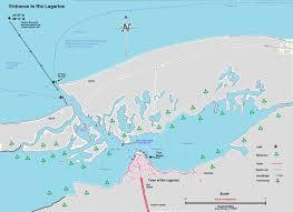 Progreso Mexico Map by Approach To Rio Lagartos