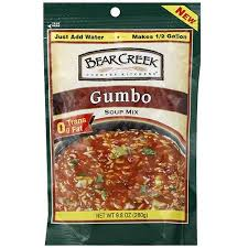 lot of 6 gumbo soup creek gumbo soup mix 9 8 oz pack of 6 walmart com