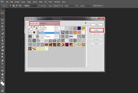 install pattern in photoshop cs6 how to import and create photoshop patterns