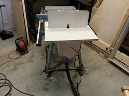 Table Saw Router Table Add A Router Table With Dust Collector To Your Table Saw 7 Steps