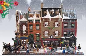 lego ideas victorian london christmas