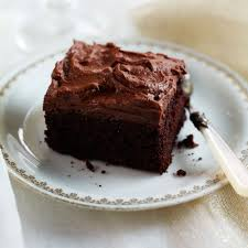 chocolate fudge icing woman and home