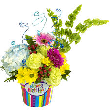 birthday flowers happy birthday celebration bouquet designed by karin s florist