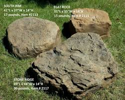 Artificial Landscape Rocks by Fake Landscape Rocks 4 Home Decor I Furniture
