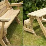 diy fold down picnic table best tables