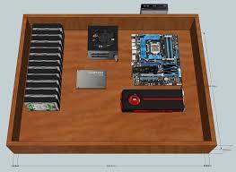 Schreibtisch Simpel Wassergekühltes System Im Schreibtisch Computerbase Forum