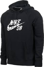cost effective nike sb icon grip tape hoodie black white mens
