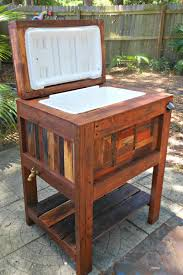 Making Wooden Patio Chairs by Deck Cooler Diy Deck Ideas Pinterest Deck Cooler Decking