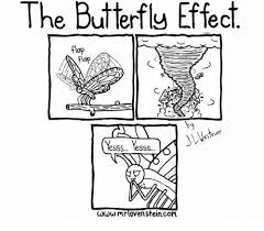 25 best memes about the butterfly effect theory the