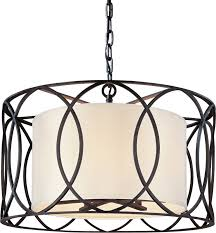 Drum Light Pendant View The Troy Lighting F1285 Sausalito 5 Light Drum Pendant With