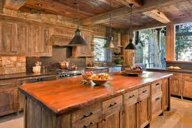 Rustic Kitchens Designs Countertops U0026 Backsplash Extremely Creative Rustic Kitchen