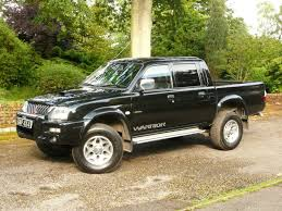 mitsubishi l200 2005 mitsubishi l200 2 5 did warrior in black youtube