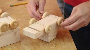 Free Woodworking Plans Toy Trucks by 2x4 Wooden Toy Truck Woodworking For Mere Mortals