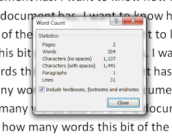 Count Words In A Text Document How Do I Count The Words In My Word Document Libroediting