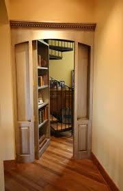 exterior mesmerizing hidden passage behind bookshelf with dark