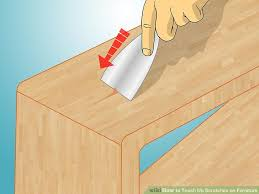 5 ways to touch up scratches on furniture wikihow