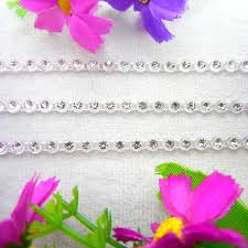 online get cheap trim plastic aliexpress alibaba group 5 sizes crystal clear rhinestone nice 3 colors sew on glue on plastic rhinestone chain string applique shoes diy trimming