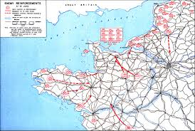 Map Of Brittany France by Hyperwar Omaha Beachhead 6 June 13 June 1944 Chapter 6