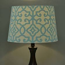 better homes and gardens irongate lamp shade multi color teal