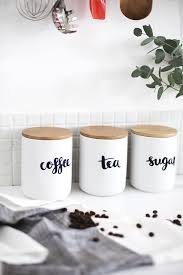 coffee kitchen canisters 10 last minute diy mother s day gifts sugar jar jar and sugaring