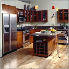 Remodeled Kitchens With Islands Remodeled Small Kitchens Custom Cabinet Metal Bar Stool Stainless