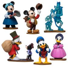 mickey s special edition carol figurines set of 7
