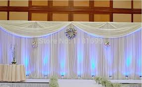 wedding backdrop curtains curtain backdrop for weddings decorate the house with beautiful