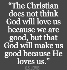 christian sayings the christian does not think god