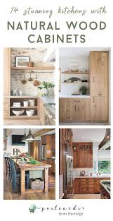 modern country kitchen with oak cabinets 14 stunning kitchens with wood cabinets postcards from the