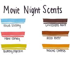 mr sketch movie night scented markers chisel tip assorted colors