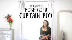 Gold Curtain Diy